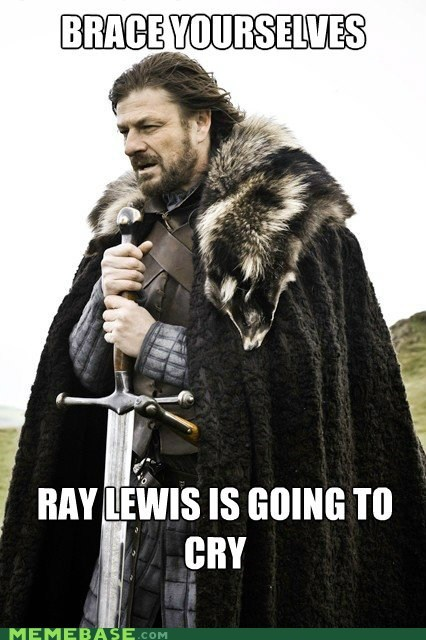 brace yourselves,raw lewis,football