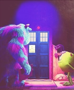 crossover,monsters inc,doctor who