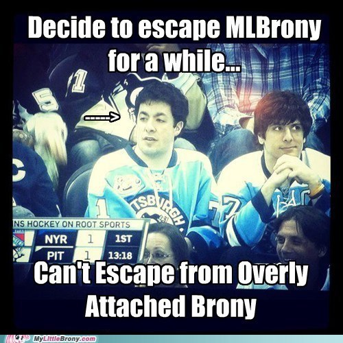 my little brony,overly attached brony,hockey,Memes
