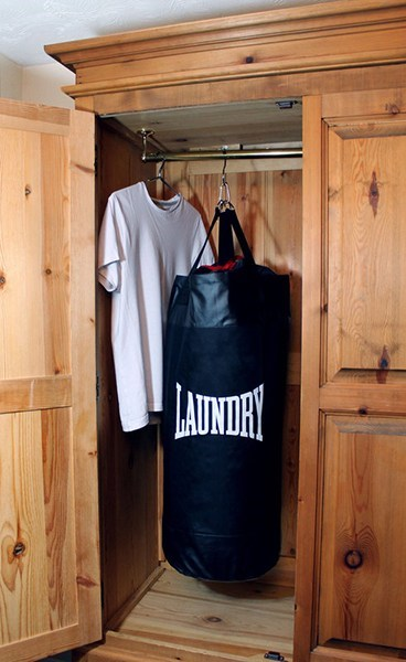 laundry,gym,design,punching bag