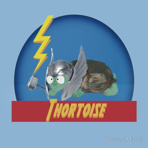 Thor T.Shirt similar sounding tortoise juxtaposition - 7020476416