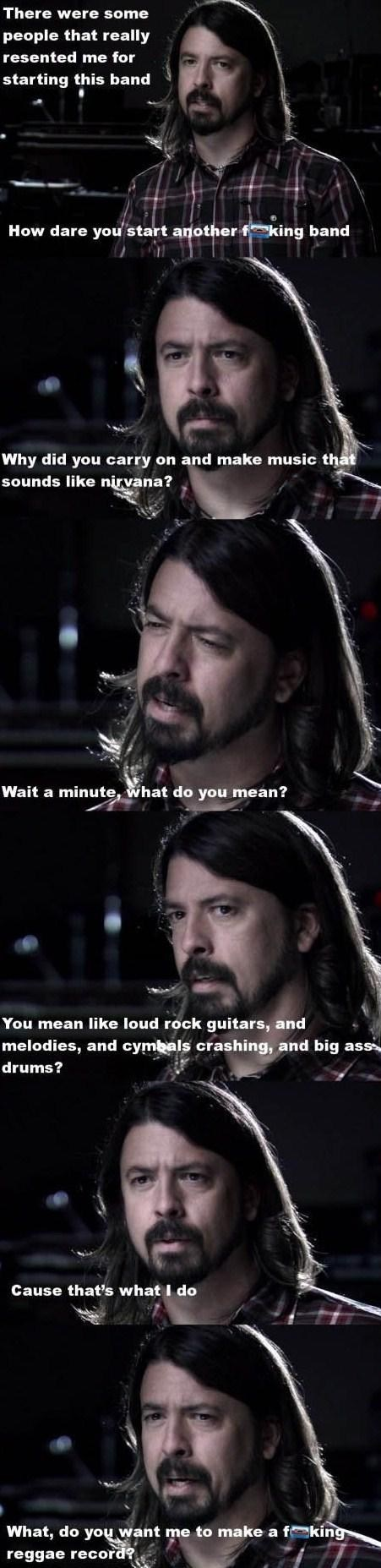Dave Grohl foo fighters nirvana