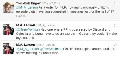 twitter M-A-Larson trolling parasprites - 7020752128