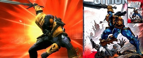 deathstroke,nether realm,comics,video games