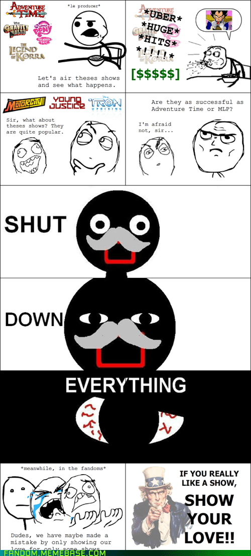 favoritism,cartoons,Rage Comics