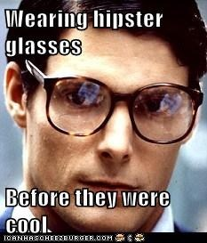 glasses hipster superman - 7022077184