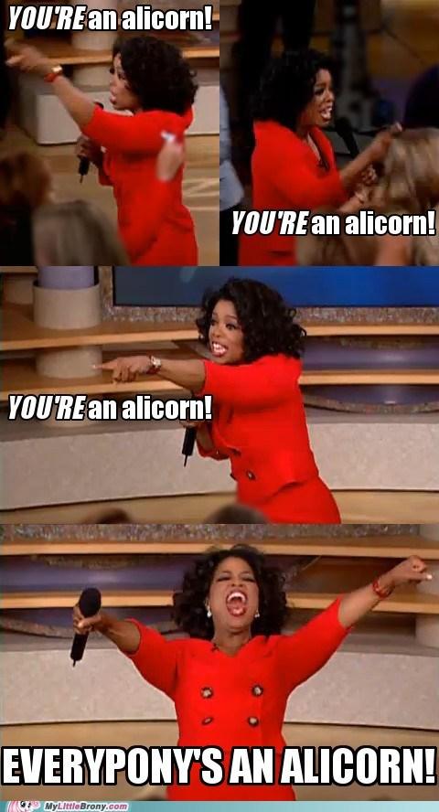 alicorn Memes Hasbro oprah - 7022215168