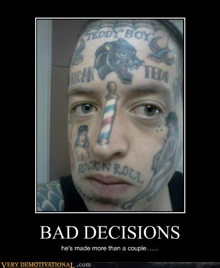 decisions bro tattoos