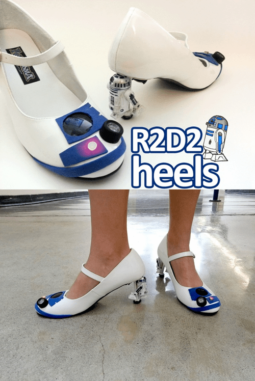 These Heels R2 Awesome!