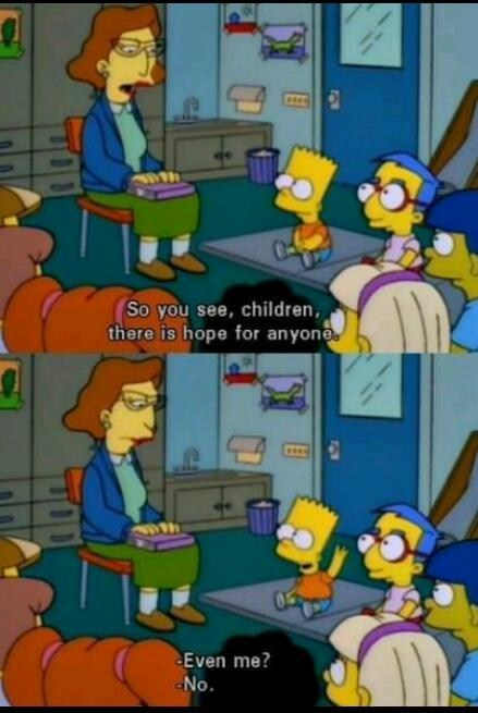 hope,bart,teacher,simpsons