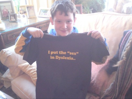 dyslexia t shirts funny - 7022961664