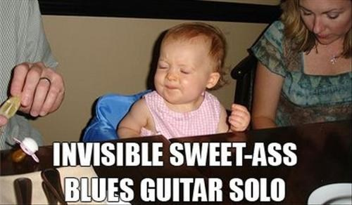 baby guitar solo funny face - 7023005952