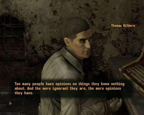 the internet,fallout new vegas,opinions
