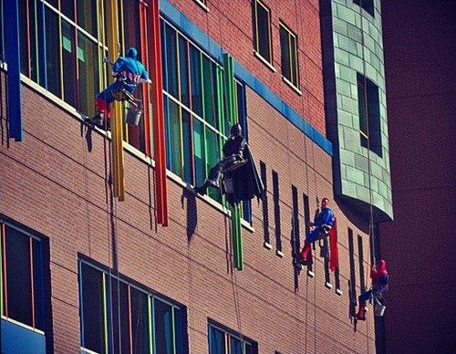 washers superheroes window - 7023217664