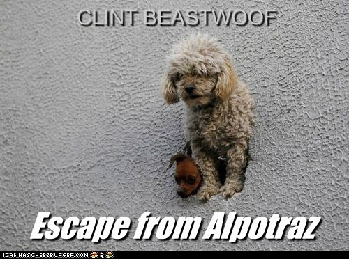 CLINT BEASTWOOF Escape from Alpotraz