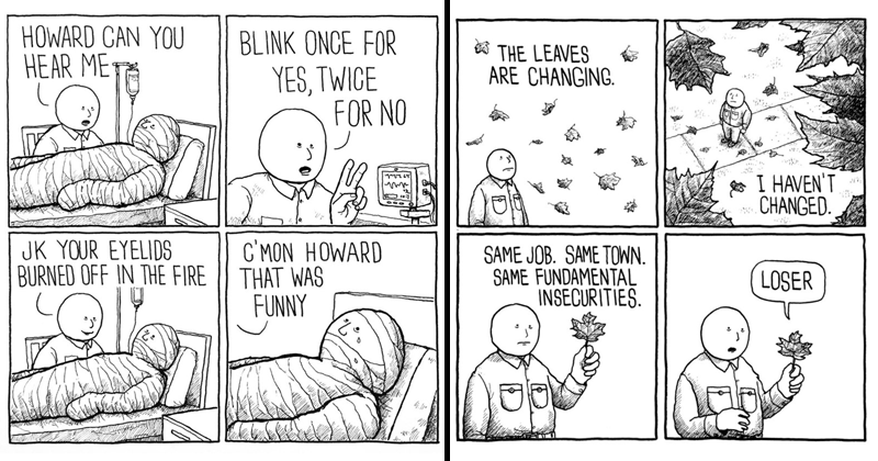 30 Hilariously Dark Comics From Jake Likes Onions