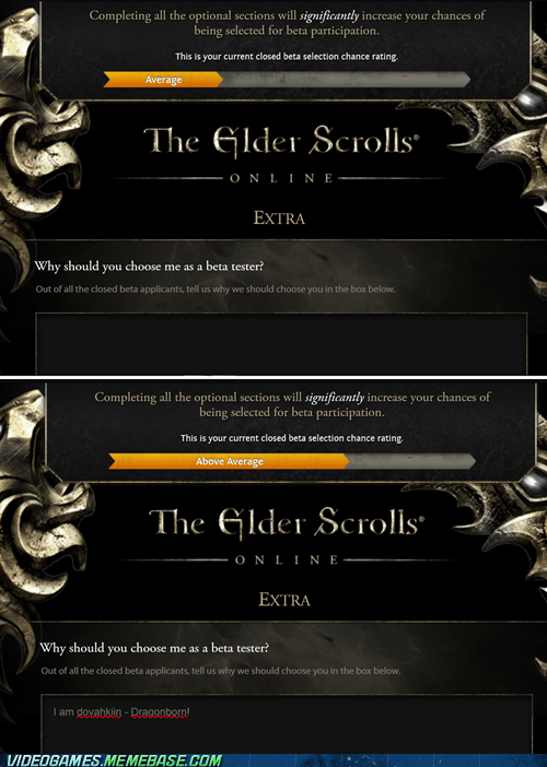 online,beta,elder scrolls,unfair advantage
