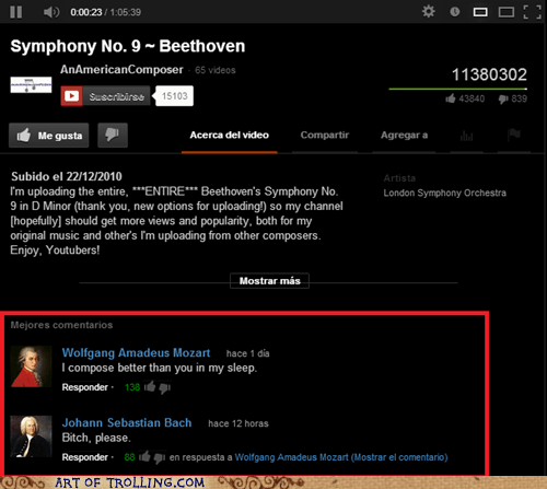 Beethoven,youtube,mozart,Bach,classical music