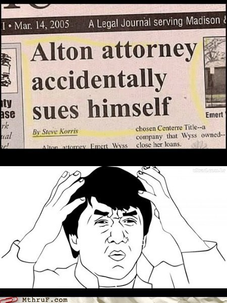 attorney,lawyer,suing yourself