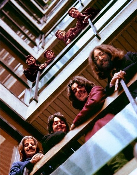 the Beatles,greatest hits,balcony