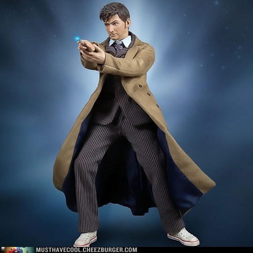 figurine,10th doctor,doctor who