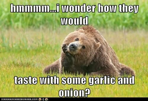 bears,garlic,flavor,wonder