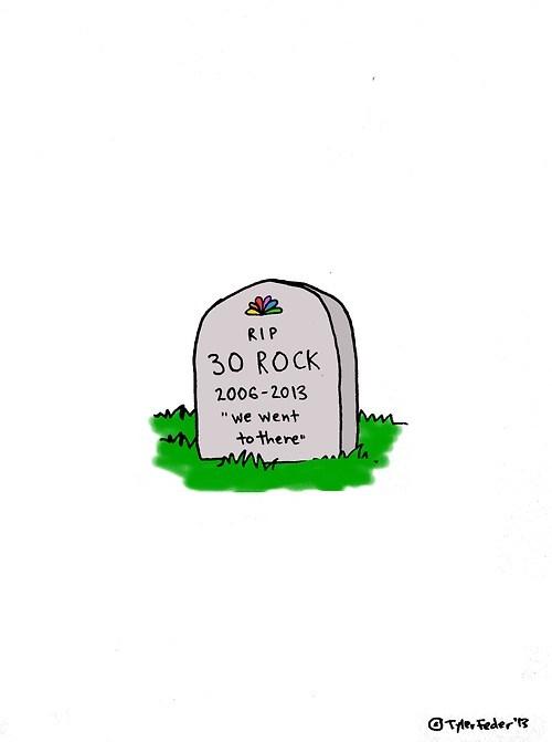 art 30 rock NBC TV - 7026140672