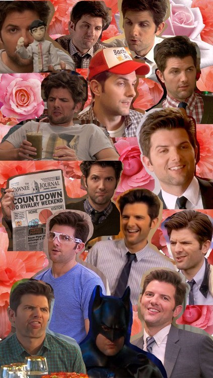 parks and recreation adam scott actor collage NBC TV funny - 7026218752