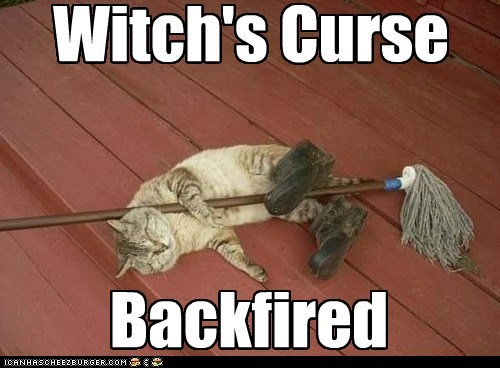 Backfired Witch's Curse