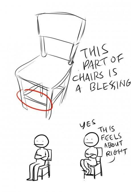 feels about right,chairs,blessing