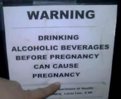pregnancy,alcoholic beverages,warnings,warned