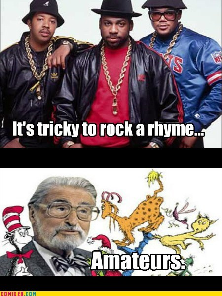 rhyme Music dr suess Run DMC