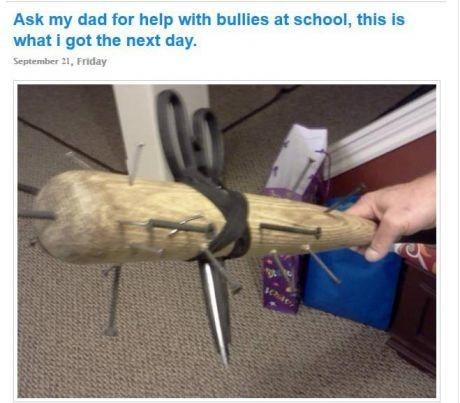 bully,baseball bat,school