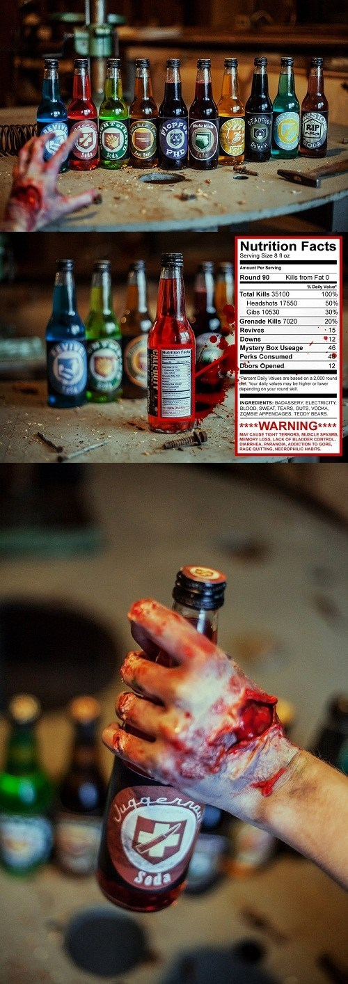 call of duty zombie art IRL perk-a-cola - 7026633984