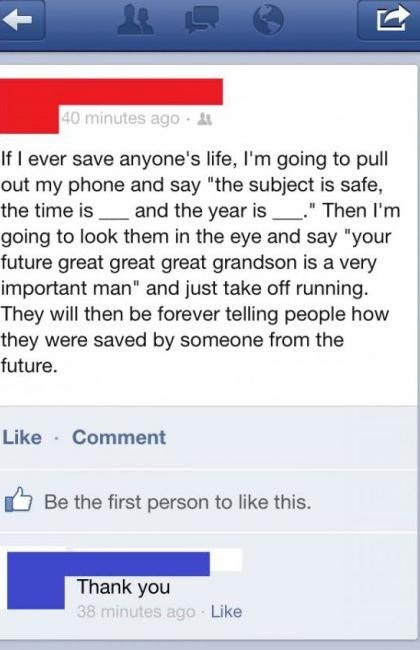 from the future save a life pranks - 7026650880