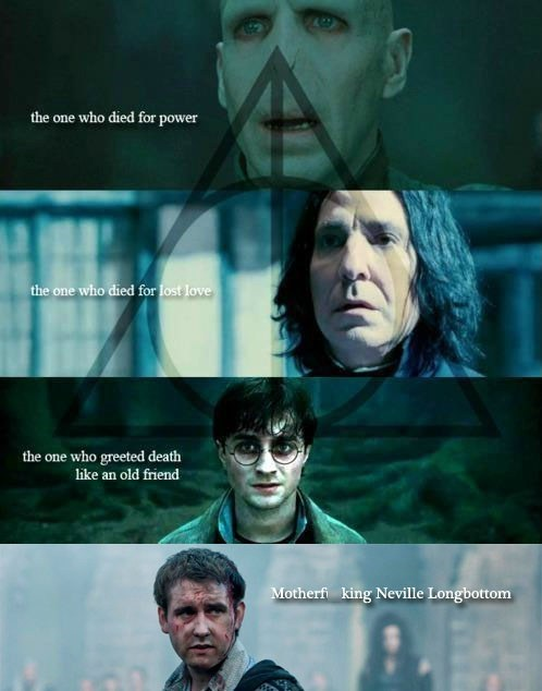 Harry Potter movies neville longbottom - 7026651392