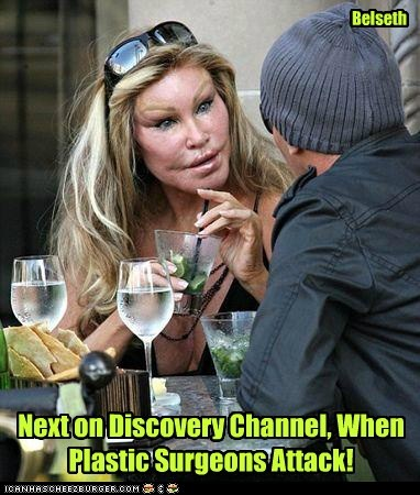 scary,plastic surgery,attack,Jocelyn Wildenstein,discovery channel