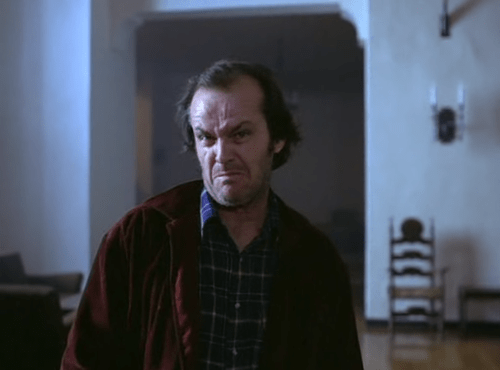 jack nicholson Movie actor the shining funny - 7026657280
