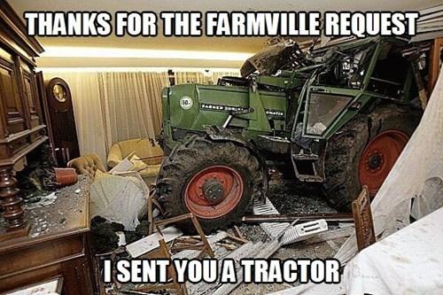 tractor IRL Farmville - 7026682368