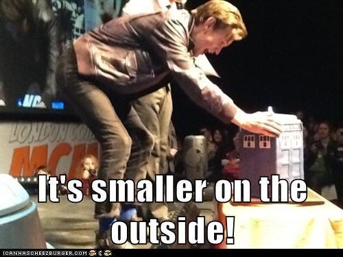 the doctor tardis Matt Smith doctor who small bigger on the inside - 7026726912