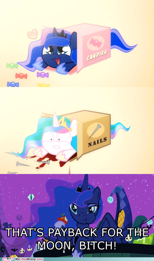 nails boxes cute celestia luna - 7026915072