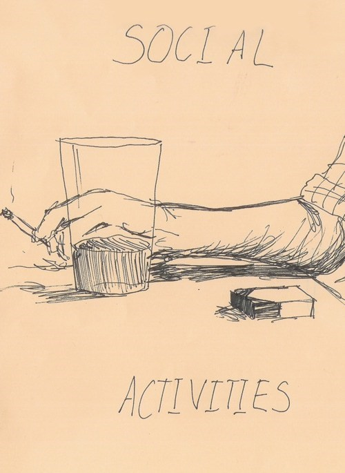 drinking,activities,social activities,smoking