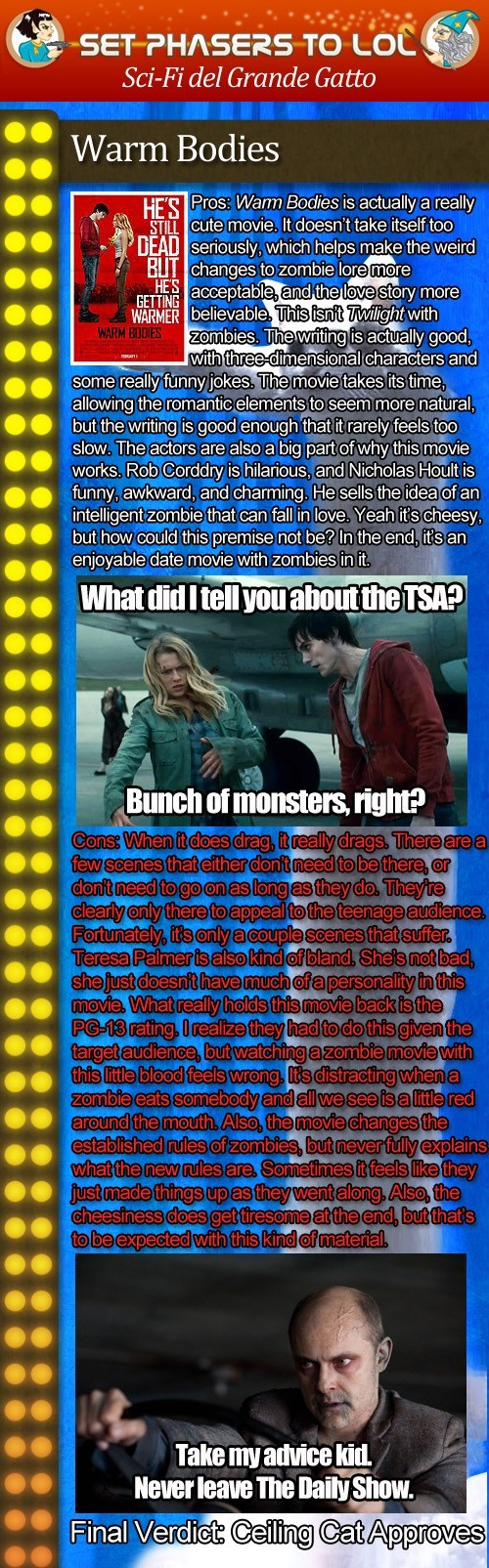 reviews zombie warm bodies rob corddry teresa palmer movies nicholas hoult - 7027069184
