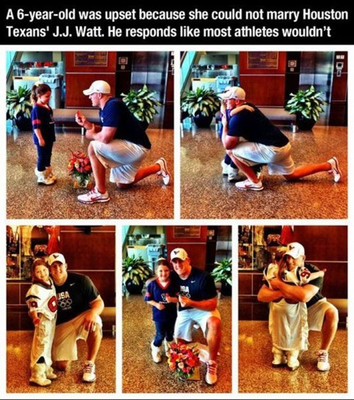 Sad kid cute football jj watt girl - 7027303936