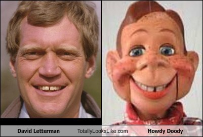 TLL,howdy doody,puppet,David Letterman