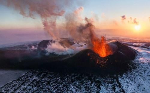 russia,landscape,volcano