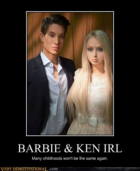 BARBIE & KEN IRL Many childhoods won't be the same again.