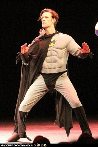 Matt Smith is Batman