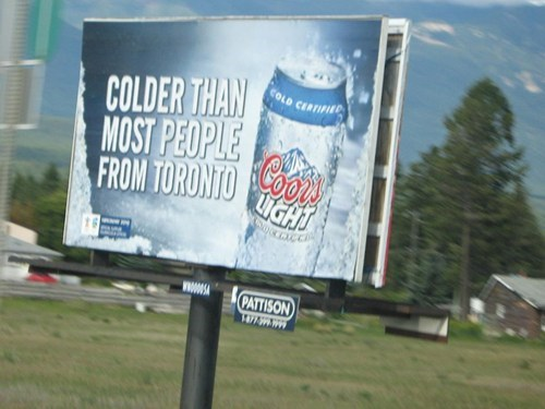 advertisement billboard ice cold troofax harsh - 7027736064