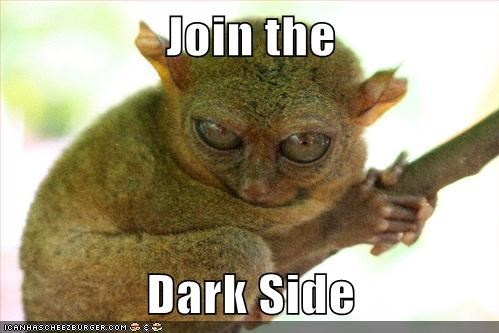 evil the dark side tarsiers Emperor Palpatine - 7028101632